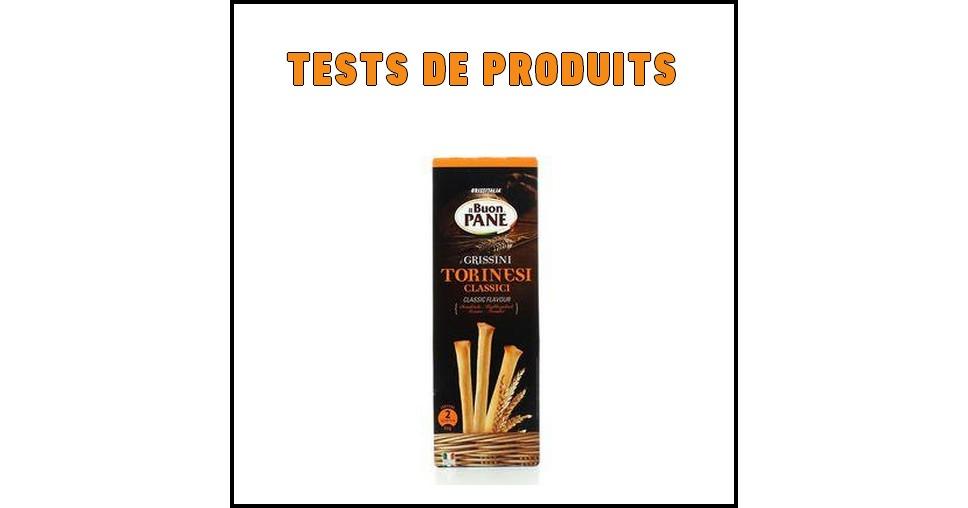Tests de Produits : Gressin classique nature de Grissitalia - anti-crise.fr