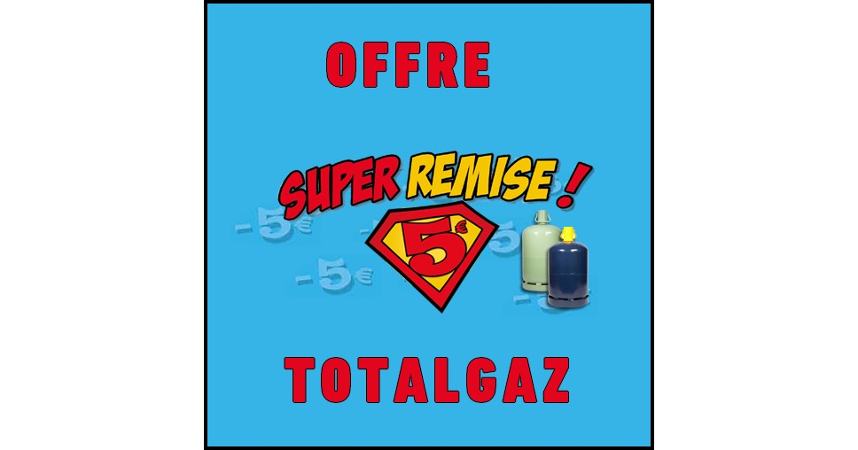 offre de remboursement odr totalgaz 5 sur bouteille de gaz butane ou propane 01 09. Black Bedroom Furniture Sets. Home Design Ideas