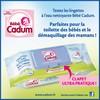 Tests de Produits : Lingettes à l'eau nettoyante de Cadum - anti-crise.fr