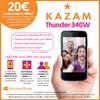 Offre de Remboursement (ODR) Kazam : 20 € sur Thunder 340W - anti-crise.fr