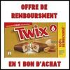 Offre de Remboursement (ODR) Twix : Barre Glacée Coeur Croustillant 100 % Remboursées en 1 Bon - anti-crise.fr