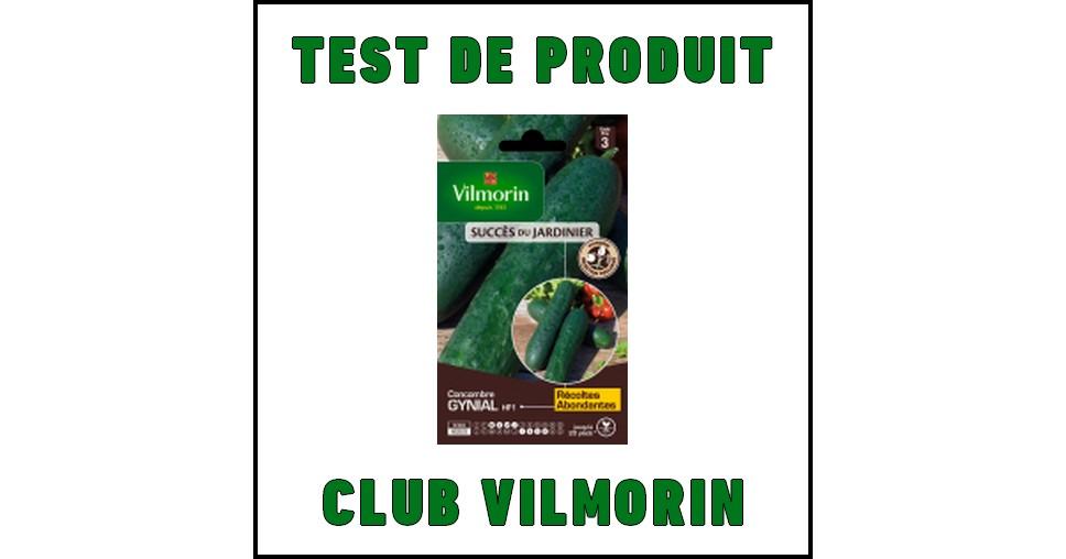 Test de produit club vilmorin concombre gynial hf1 for Concombre gynial