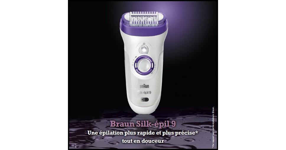 test de produit envie de plus epilateur silk pil 9 braun. Black Bedroom Furniture Sets. Home Design Ideas