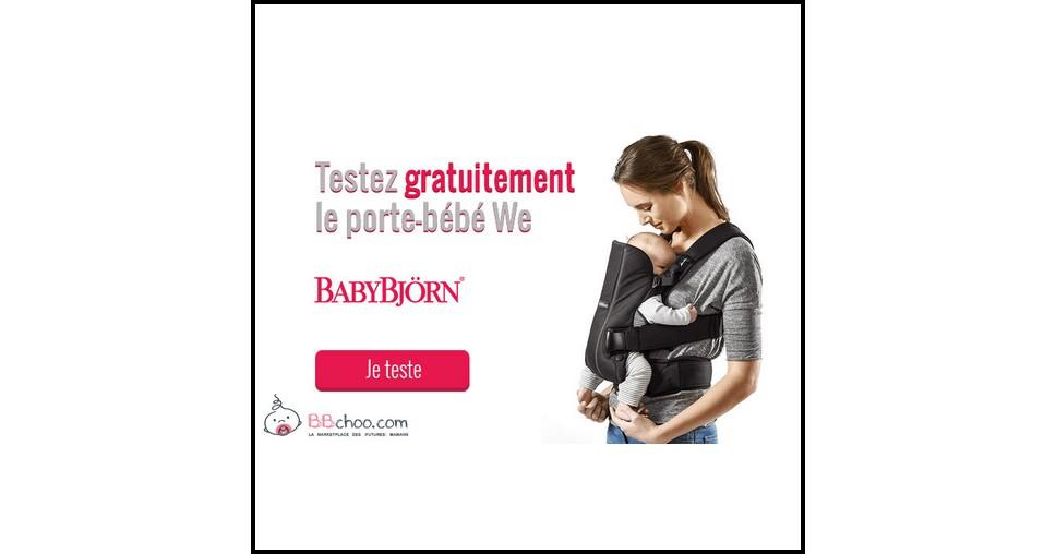 Test de Produit BBchoo : Porte-bébé We BabyBjörn - anti-crise.fr