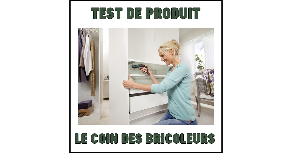 test de produit le coin des bricoleurs visseuse sans fil ixo v bosch. Black Bedroom Furniture Sets. Home Design Ideas