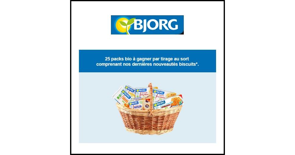 Tirage au Sort Bjorg : Pack Bio à Gagner - anti-crise.fr