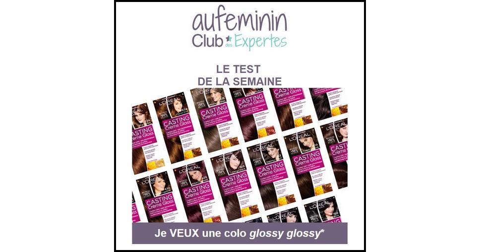test de produit au fminin coloration casting crme gloss reflets 316 prune exquise de l - Coloration Prune