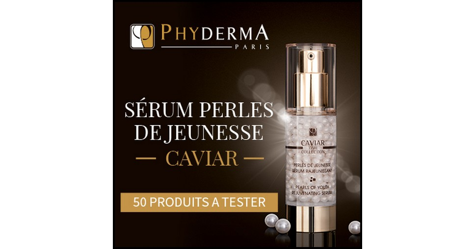test de produit beaut test s rum rajeunissant perles de jeunesse caviar time collection phyderma. Black Bedroom Furniture Sets. Home Design Ideas