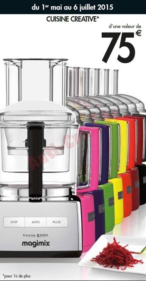 Bon plan magimix coffret cuisine cr ative ou 2 disques - Coffret cuisine creative ...