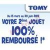 Offre de Remboursement (ODR) Tomy : Votre 2ème Jouet 100 % Remboursé - anti-crise.fr