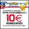 Offre de Remboursement (ODR) Tomy : 10 € sur les Jouets Pokemon - anti-crise.fr