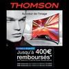 Offre de Remboursement (ODR) Thomson : 400 € sur TV UHD Incurvée série A8 - anti-crise.fr