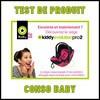 Test de Produit Conso Baby : Siège Coque Evolution Pro 2 de Kiddy - anti-crise.fr