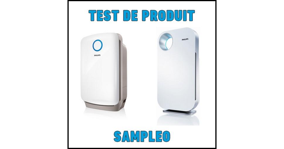Test De Produit Sampleo Purificateurs D Air Philips