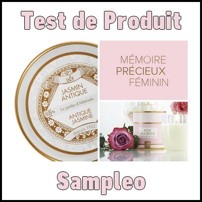 test de produit sampleo bougie parfum e boudoir bougie la fran aise. Black Bedroom Furniture Sets. Home Design Ideas