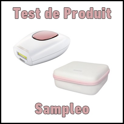 test de produit sampleo epilateur lumi re puls e philips lumea comfort catalogues promos. Black Bedroom Furniture Sets. Home Design Ideas