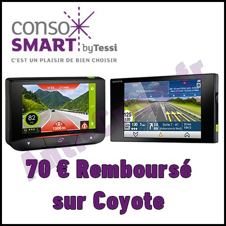 offre de remboursement consosmart 70 sur coyote. Black Bedroom Furniture Sets. Home Design Ideas