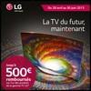 Offre de Remboursement (ODR) LG : 500 € sur Téléviseur OLED - anti-crise.fr
