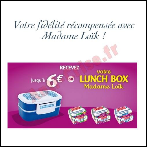 Offre de Remboursement (ODR) Paysan Breton : 6 € sur Fromages Fouettés Madame Loïk - anti-crise.fr