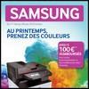 Offre de Remboursement (ODR) Samsung : 100 € sur Imprimante ou Multifonction Laser + Toner - anti-crise.fr