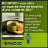Bon Plan Kenwood : Un Livre de Recettes Offert pour tout achat d'un Robot Multipro Sense FPM810 - anti-crise.fr