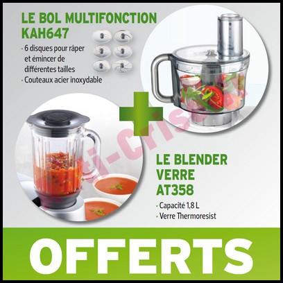 Bon Plan Kenwood : 2 Accessoires Offerts pour l'achat d'un Robot Chef Sense  - anti-crise.fr