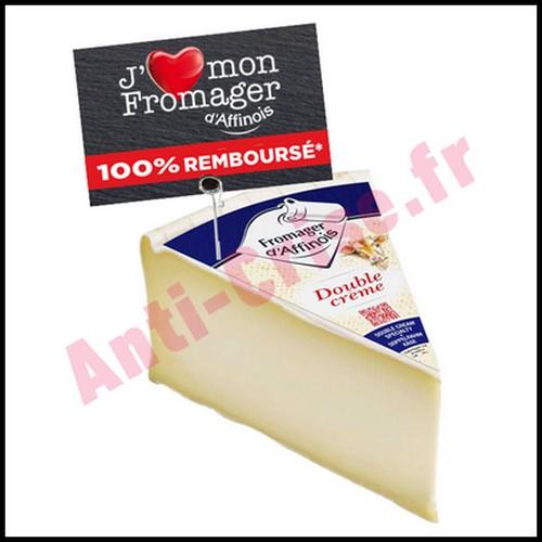 Offre de Remboursement Pavé D'Affinois : Fromager Double Crème 100 % Remboursé - anti-crise.fr