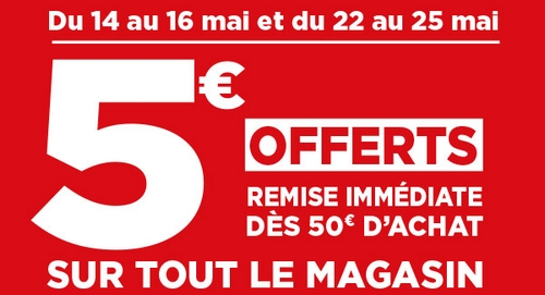 Bon de r duction de 5 chez g ant casino - Bon de reduction atylia ...