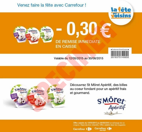 Coupons reduction carrefour a imprimer