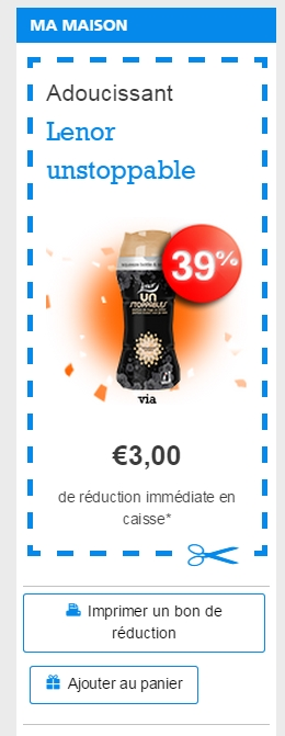 Coupons de reduction lenor