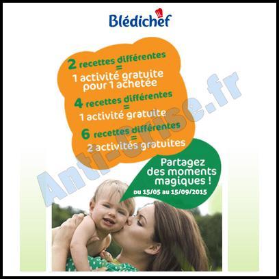 Bon Plan Blédina : Activités Gratuites Offertes - anti-crise.fr