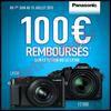 Offre de Remboursement Panasonic : 100 € sur Appareil Photo FZ1000 ou LX100 - anti-crise.fr