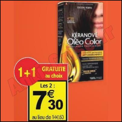 optimisation coloration kranove 330 chez auchan anti crisefr - Coloration Keranove