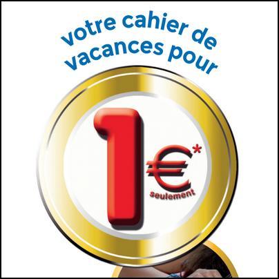 Offre de Remboursement Ravensburger / Nathan : Cahier de Vacances à 1 € - anti-crise.fr