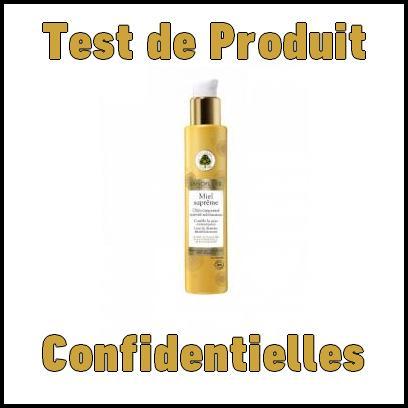 Test de Produit Confidentielles : Miel Suprême de Sanoflore - anti-crise.fr
