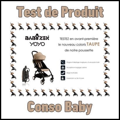 Test de Produit Conso Baby : Poussette Babyzen YOYO - anti-crise.fr