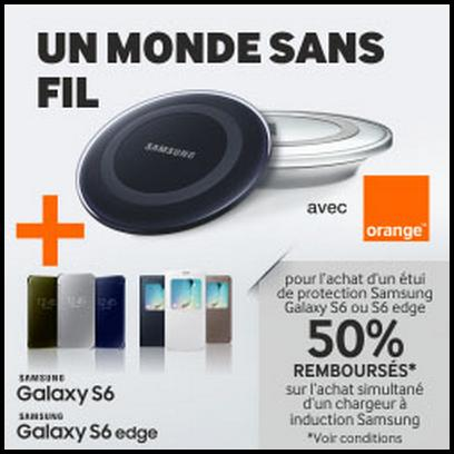 offre de remboursement samsung 50 sur chargeur induction. Black Bedroom Furniture Sets. Home Design Ideas