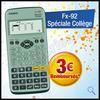 Offre de Remboursement Casio : 3 € sur Calculatrice fx-92 spéciale collège - anti-crise.fr