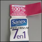 Offre de Remboursement Sanex : Déodorant 7 en 1 100 % Remboursé en 1 Bon - anti-crise.fr