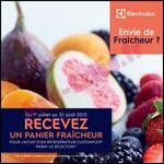Bon Plan Electrolux : Panier Fraîcheur Offert pour l'achat d'un Réfrigérateur - anti-crise.fr
