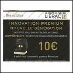 Offre de Remboursement Liérac : 10 € sur La Nouvelle Gamme Premium - anti-crise.fr
