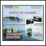 Tirage au sort Facebook Fujifilm : 1 appareil photo Fujifilm X100T à gagner !