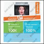 Offre de Remboursement Lenovo : Yoga Tablet 2 Satisfait ET Remboursé - anti-crise.fr