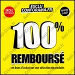 Bon Plan Conforama : 83 Produits 100 % Remboursés en 3 Bons - anti-crise.fr