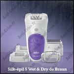 Test de Produit Envie de Plus : Silk-épil 5 Wet & Dry de Braun - anti-crise.fr