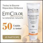 Test de Produit Betrousse : Baume Réparateur Brillance Efficolor - anti-crise.fr