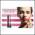 Test de Produit MissTest: Ancre à Lèvres Rouge Infusion de Sephora - anti-crise.Fr