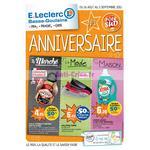Catalogue Leclerc du 26 août au 5 septembre