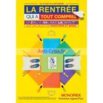 Catalogue Monoprix du 12 août au 6 septembre