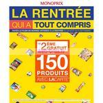Catalogue Monoprix du 26 août au 6 septembre